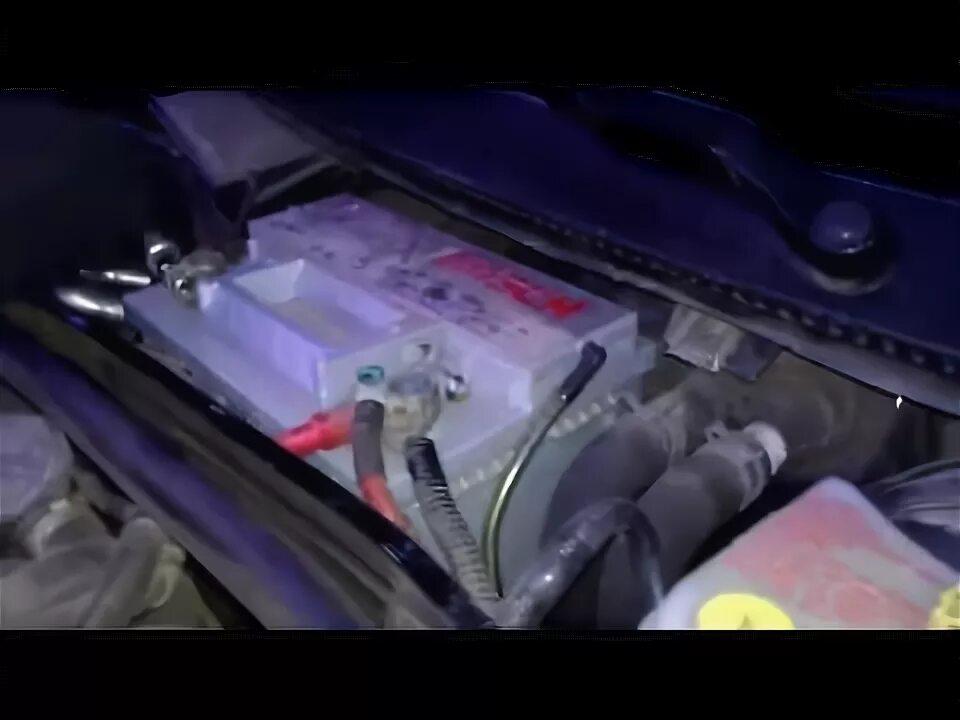 какие ключи нужны открутить акб ford fusion