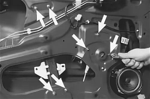 Как заменить электростеклоподъемник водительской двери на Daewoo Lanos