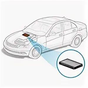Проекция логотипа автомобиля на дорогу фото