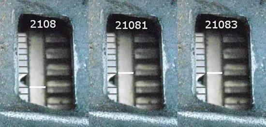 Углы опережения зажигания для ВАЗ 2108, 2109 и 21099