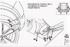 Как снять задний бампер Opel Mokka