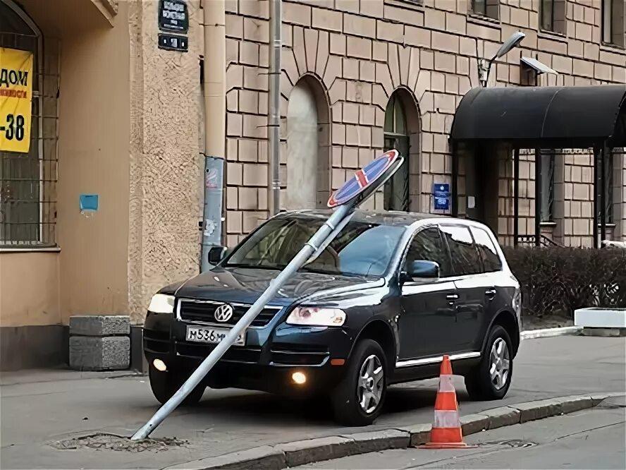 Штраф за езду по тротуару