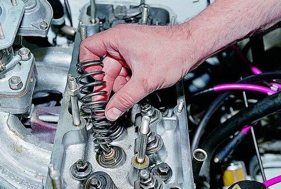 Замена клапанов на ВАЗ с 8-клапанным мотором