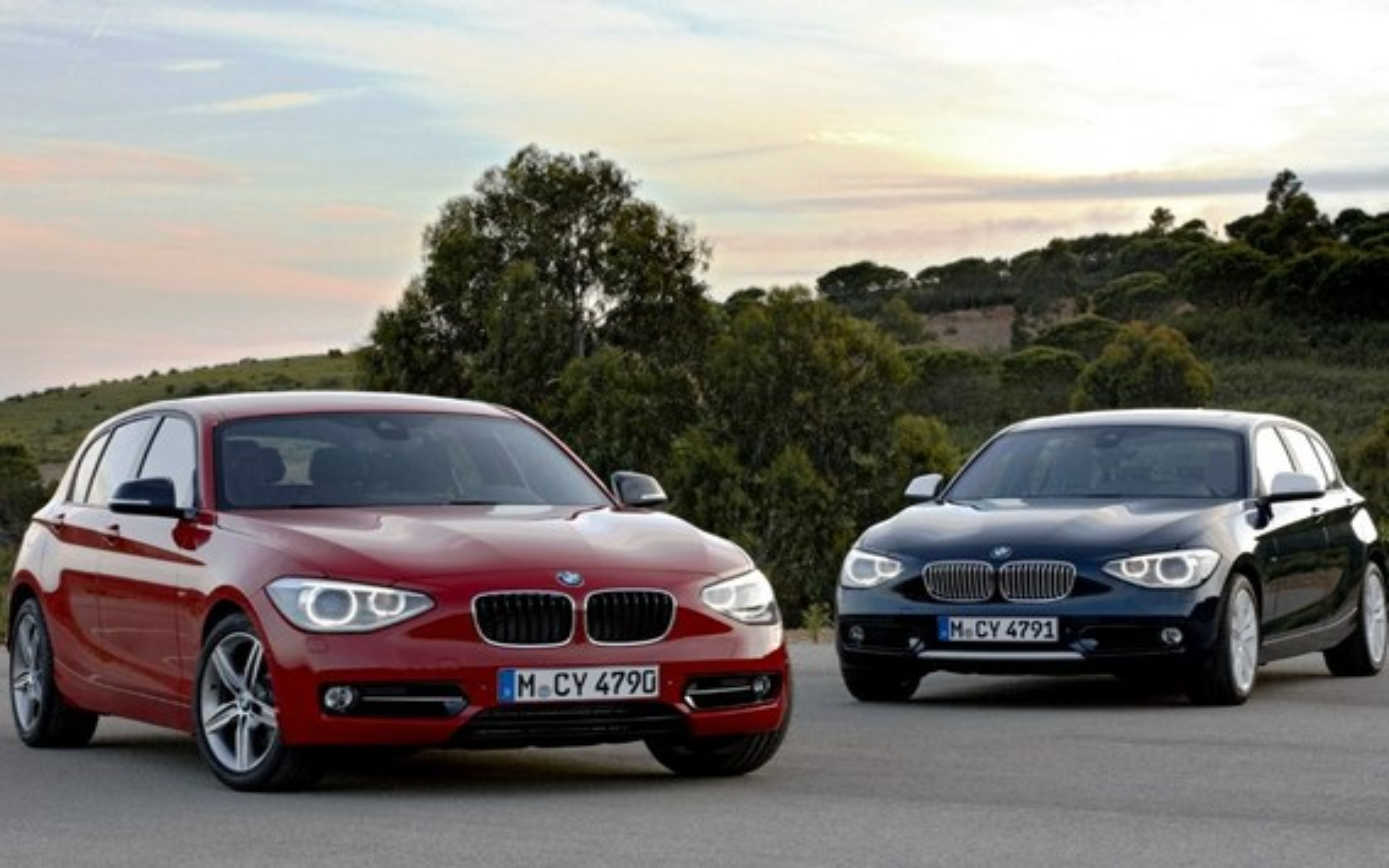 Особенности комплектаций BMW 1-Series F20 Line Sport и Line Urban