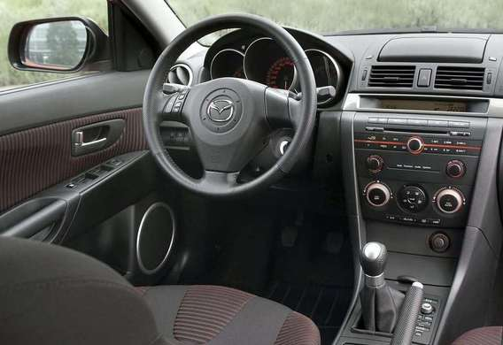 Проверка свободного хода рулевого колеса на Mazda 3 (I)