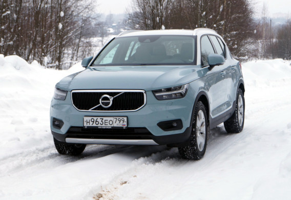 Интервью с автомобилем: Volvo XC40